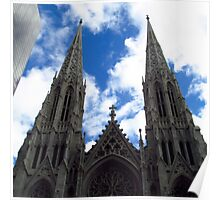 St. Patrick's Cathedral - New York City Poster