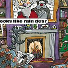 Looks Like Rain Dear by ToneCartoons
