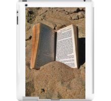 Book in the Sand iPad Case/Skin