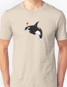 Cute Killer Whale Unisex T-Shirt