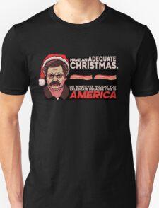 A Ron Swanson Christmas V.2 T-Shirt