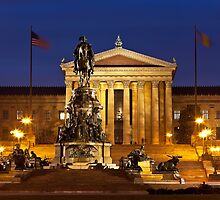 Philadelphia Museum Of Art by Marty Straub