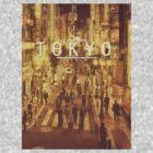 Tokyo Cityscape by Jamestheamazing