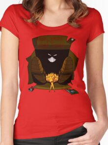 The Maxx: Free Hero to Good Home Women's Fitted Scoop T-Shirt