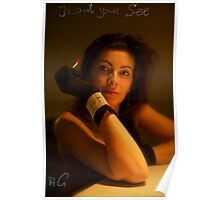 I Want Your Sex . Brown Sugar & Evita KittyCat.  featured in The Silky Touch. Buy what you like !  Poster