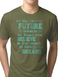 Future - light blue Tri-blend T-Shirt