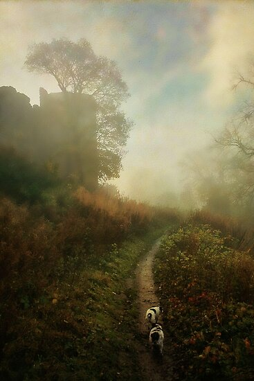 Castle Walk by Simon Harris