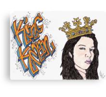 King Kman Canvas Print