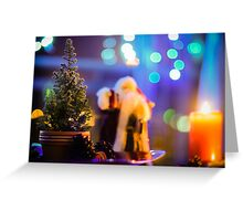 A Christmas Scene Greeting Card