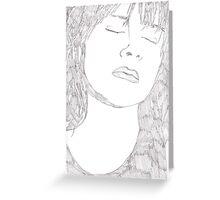Judy Davis Sketch Greeting Card