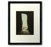 Cathedral Caves, The Catlins, South Island, New Zealand Framed Print