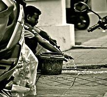Bike Washer by MaxineTing