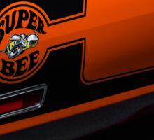 1970 Dodge Superbee 440 Six Pack Sticker