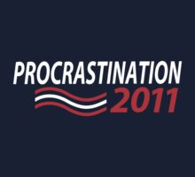 Vote Procrastination Kids Clothes