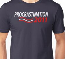 Vote Procrastination Unisex T-Shirt