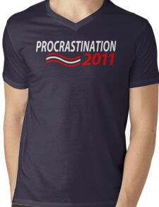 Vote Procrastination Mens V-Neck T-Shirt