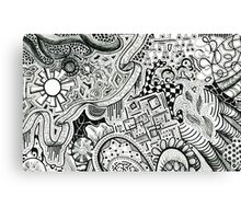 Doodles Canvas Print