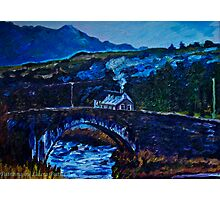 Somewhere in Donegal, painted from a photo by Jane McLaughlin Photographic Print