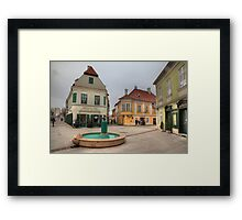 Szifon fountain Framed Print