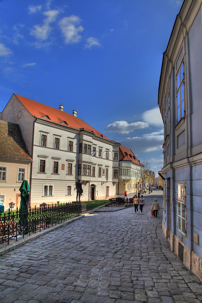 Cobbled streets by zumi