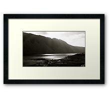 Wast Water Screes Framed Print