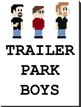 8 Bit Trailer Park Boys  by IvanLy
