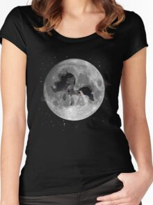 The Mare in the Moon Women's Fitted Scoop T-Shirt