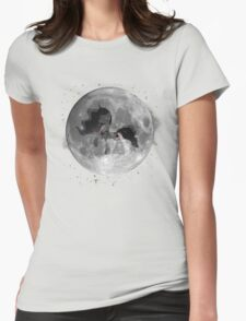 The Mare in the Moon Womens Fitted T-Shirt