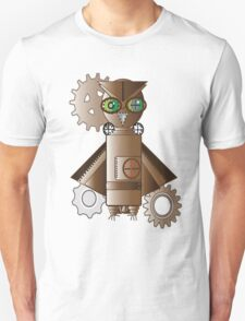Steampunk Owl Unisex T-Shirt
