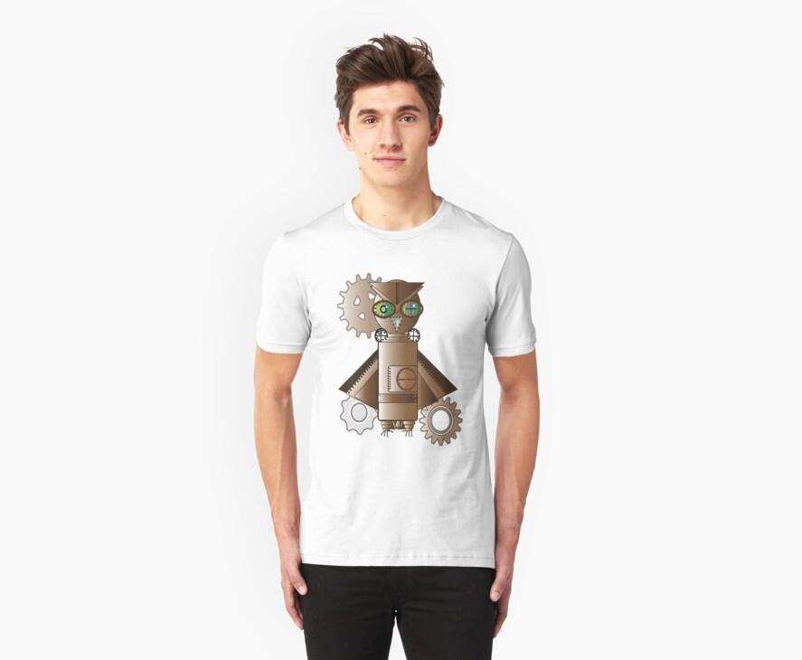 Steampunk Owl by SunfluerDesigns