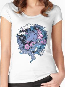 - Magical Unicorn - Women's Fitted Scoop T-Shirt