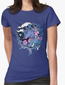 - Magical Unicorn - Womens Fitted T-Shirt