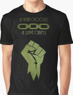 BioShock - A man Chooses Graphic T-Shirt