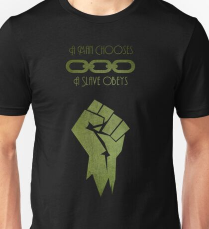 BioShock - A man Chooses Unisex T-Shirt