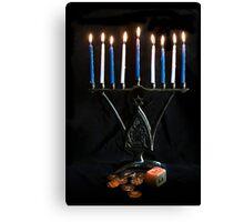 Hanukkah, The Festival of Lights Canvas Print