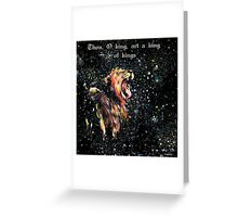 cry seven thunders Greeting Card