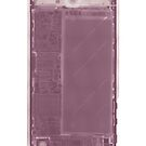 iPhone X-ray case - Pink by Mistakatt