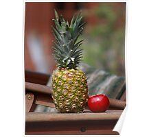 Pineapple Fruit Poster
