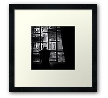Lonely afternoon Framed Print
