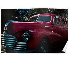 Classic Car - Red Poster