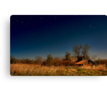 """ It Came Upon a Midnight Day "" Canvas Print"