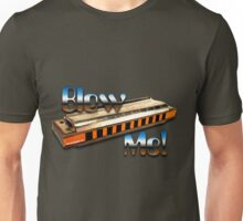 Harmonica - Blow Me! Unisex T-Shirt