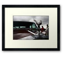 Rolls Royce car badge Framed Print