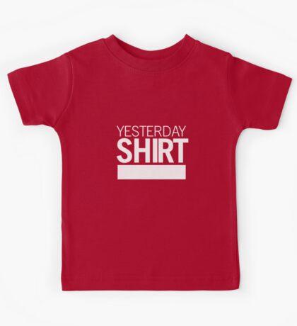 YESTERDAY SHIRT Kids Tee