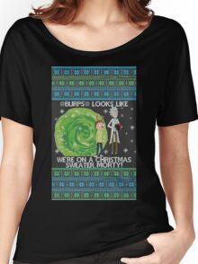 Merry Rickmas! Women's Relaxed Fit T-Shirt