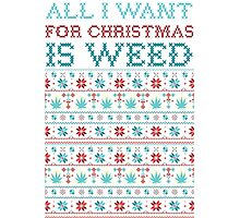 All I want for XMAS is Mary jane Photographic Print