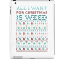 All I want for XMAS is Mary jane iPad Case/Skin