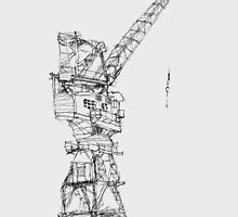 Crane sketch by Alluu
