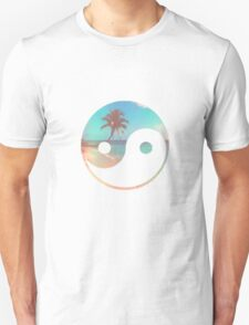 Palm Tree Yin Yang T-Shirt