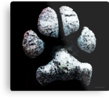 Animal Lovers - South Paw Metal Print
